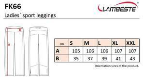Kalhoty dámské sport, black | L - 5
